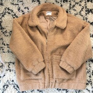 I AM GIA Teddy Sherpa Coat